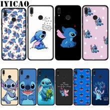 IYICAO Cute Cartoon Stich Soft Case for Huawei