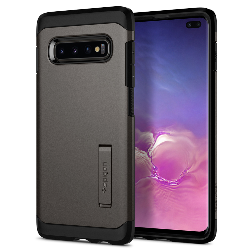100% Original SPIGEN Tough Armor Heavy Duty MIL-STD-810 Drop Resistance Cases for Samsung Galaxy S10 / S10 Plus / S10e