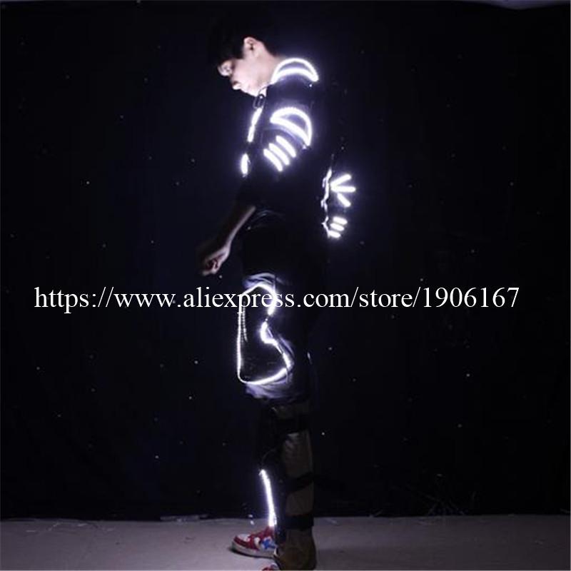 LED Costume LED Clothing Light suits LED Robot suits david robot06