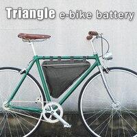 Triangle electric bike battery 52v lithium ion 1000W 2000W Battery bag 52V bafang battery BBSHD kits 52v 20ah