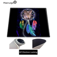 Mairuige Wolf Color Animal Gaming Mouse Pad Locking Edge Large Mouse Mat PC Computer Laptop Mouse pad for CS GO dota 2 lol