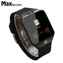 Maxinrytec DZ09 DZ09 Smartwatch Bluetooth Android Relógio Inteligente para Android Sistema de Relógios Com a Chamada de Telefone Do Cartão SIM Da Câmera PK A1