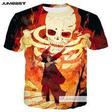 3a73e39e8 Susanoo Jumeast Nova Moda Impressão 3D Sasuke Homens mulheres Camisetas  Anime Naruto Verão O-
