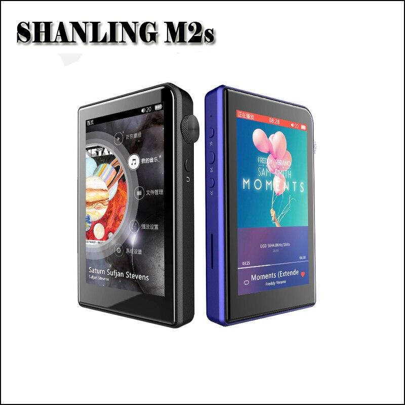 SHANLING M2s Mp3 Lecteur Mini Salut-res lecteur bluetooth Mp3 DAC AK4490EQ Portable Hifi Sans Perte Musique Lecteur DSD256