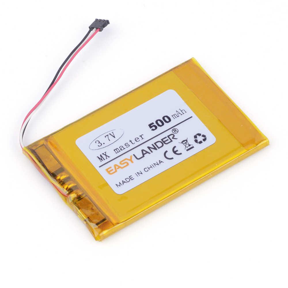 0a8bfcabb27 EasyLander Replacement 3.7V 500mAh li Polymer Battery for Logitech mx  master 533-000088 wireless