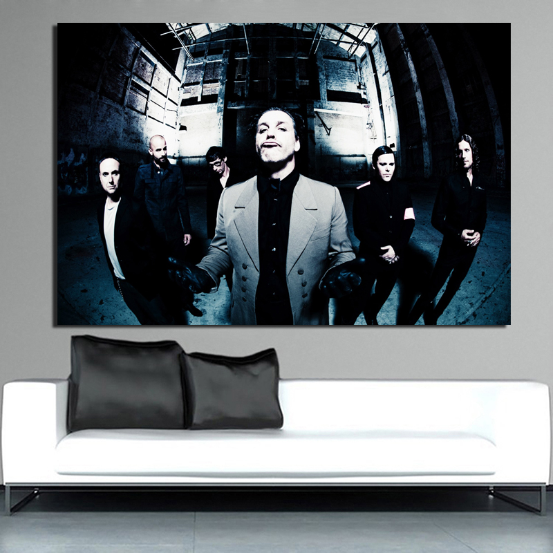 lovely Rammstein Wall Art Canvas Posters And Prints Canvas Painting Decorative Pictures For Office Living Room Home Decoration in Painting Calligraphy from Home Garden