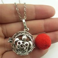 Free Shipping Vintage Turtle Tortoise Locket Essential Oil Diffuser Glow In The Dark Necklace