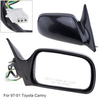 Non Folding Durable Car Right Side Mirror Right Hand RH Mirror for 97 01 Toyota Camry CE / LE / XLE Sedan 4 Door