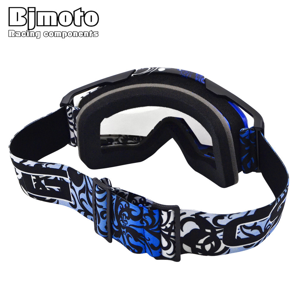 BJMOTO MG-020-06 Motocross Helmet Goggles Grafitti Moto Cross Dirtbike Motorcycle Helmets Goggle Glasses Skiing Skating Eyewear