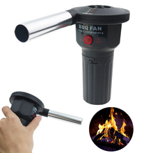 Electric BBQ Fan Air Blower Fire Bellows Picnic Camping Outdoor Cooking Tools
