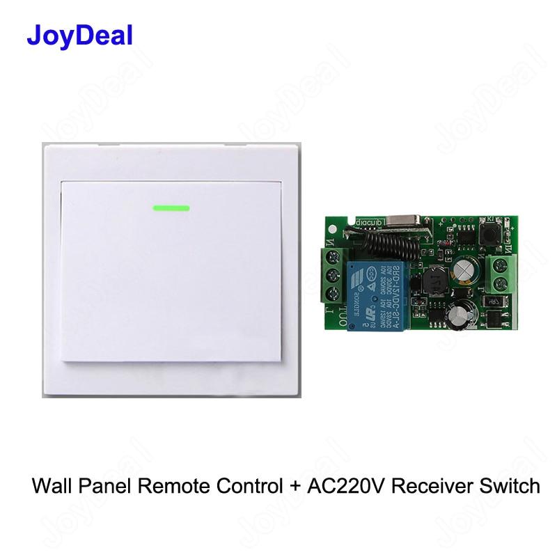 Smart Home Wireless Light Dimmer Wall Light Switch 86 Type Panel 110-220V LD1647