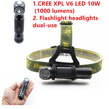 The CREE XPL-V5 flashlight is used in our daily life. you can take it as your partner when you go hiking or camping