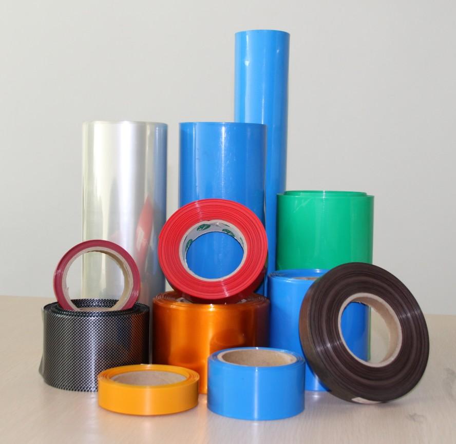 Flattening Width 350mm Transparent Black Blue White Many Color Pvc Heat Shrink Tube Cartridge Battery Crust 1pcs