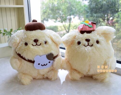 candice guo! super cute plush toy pom pom purin dog couple pudding dog stuffed doll lover birthday Christmas gift 18cm 1pc candice guo plush toy stuffed doll cartoon smile cloud sunny couple cute pillow cushion children birthday gift christmas present