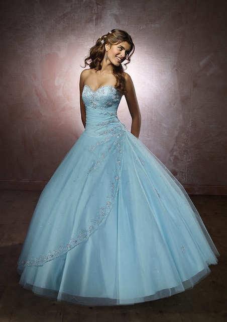 Frete Grátis Venda Quente Moda Querida A Linha de Apliques Elegantes Organza Off The Shoulder Vestido Vestido Quinceanera d1752