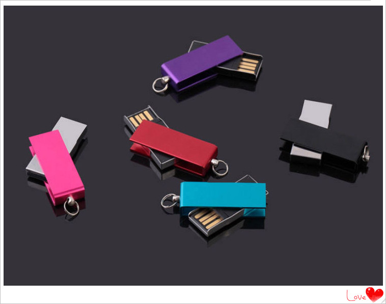 swivel USB Flash Drive Aluminum alloy 4GB 8GB 16GB 32GB 64GB USB Flash 2.0 Memory Drive Stick Pen/Thumb/Car S237