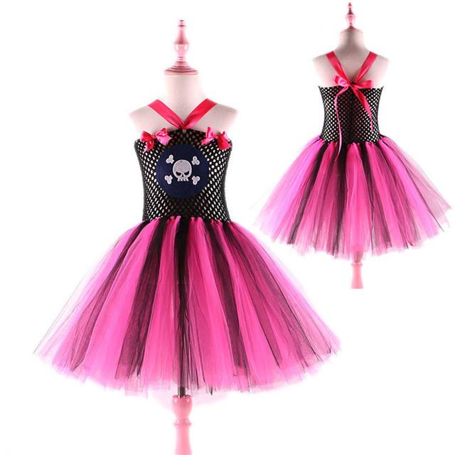 Girls Princess Pirate Dress Costume