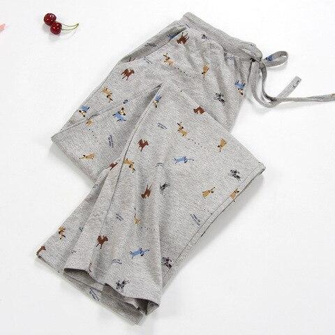 NEW Lady Sleep Bottoms 100% Cotton Pajama Pants Women Piyamas Trousers Woven Lounge Pants Comfortable Pantalon Breathable Pyjama Karachi