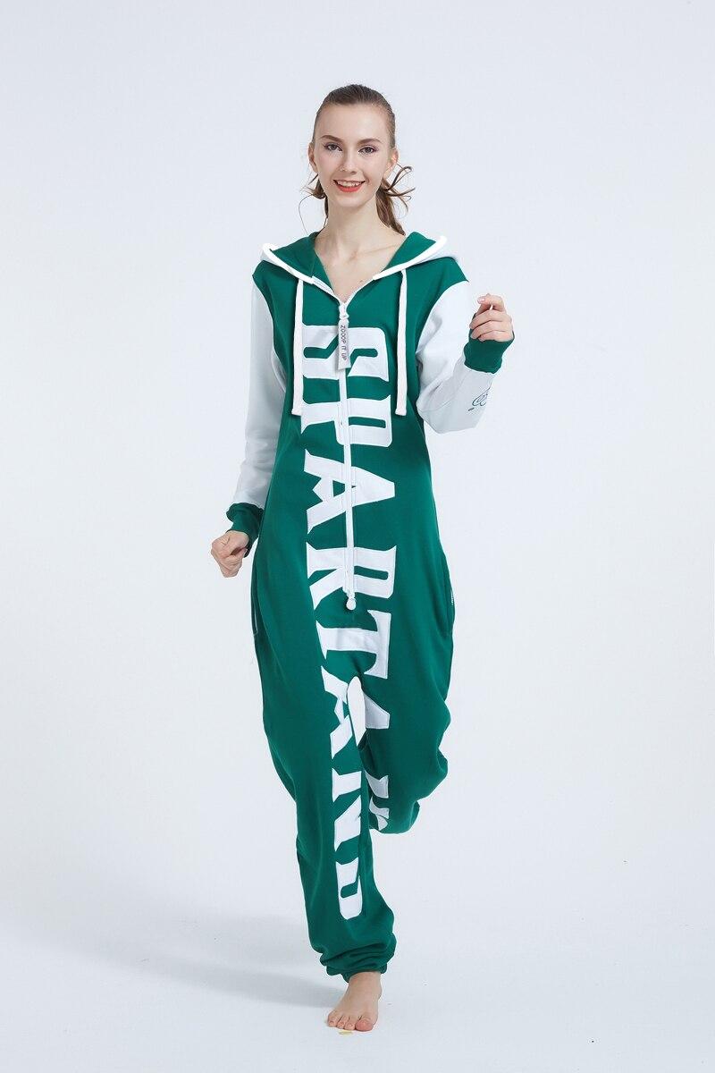 5fc09c4f4087 Nordic Way Hoody Fleece One Piece Jumpsuit Women Onesies ZOOOP IT UP Romper  Adult Playsuit