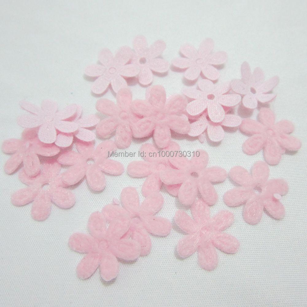 Подбитый фетр, весенний, с цветочной аппликацией, для рукоделия, свадьбы, украшения, 100 шт., 15 мм, A29