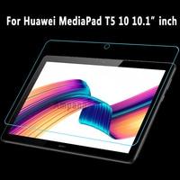 화웨이 mediapad t5 10 용 강화 유리 10.1