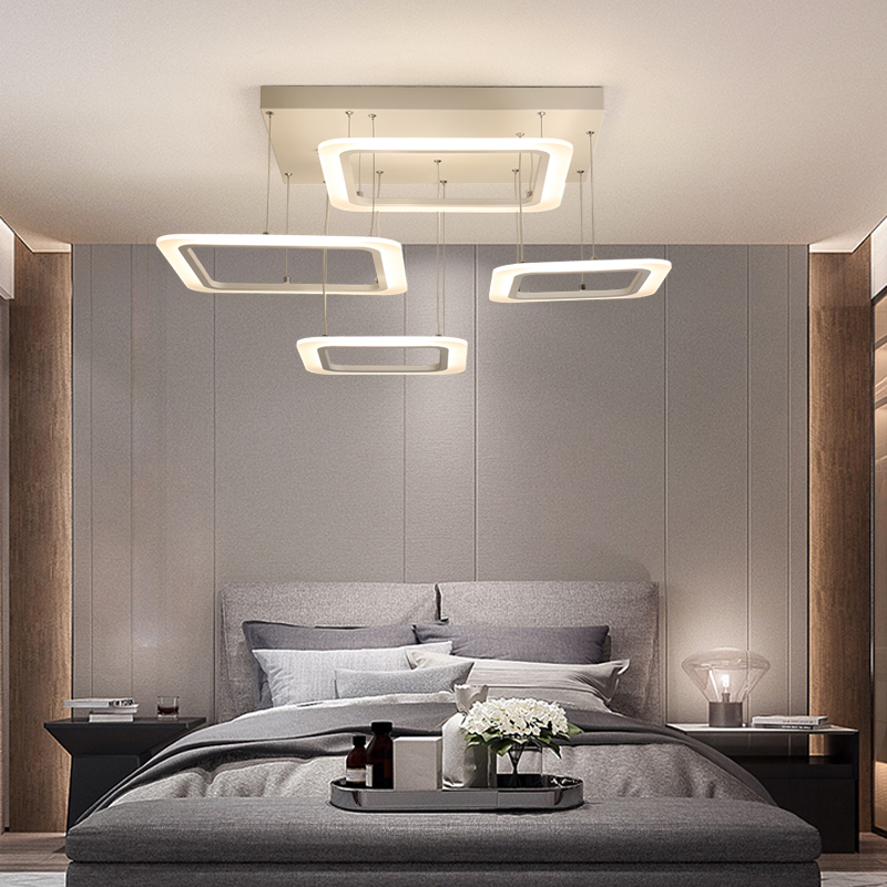 Rectangle Remote control led Ceiling Lights for Livingroom Dining Bedroom Ceiling Lamp Home Lighting Lamparas De Techo Plafond rectangle remote control led ceiling lights for livingroom dining bedroom ceiling lamp home lighting lamparas de techo plafond