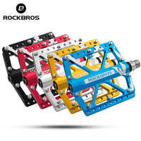 ROCKBROS Cycling MTB Pedals Mountain Bike Pedals For BMX Road Bicycle Ultralight CNC Machined 9/16