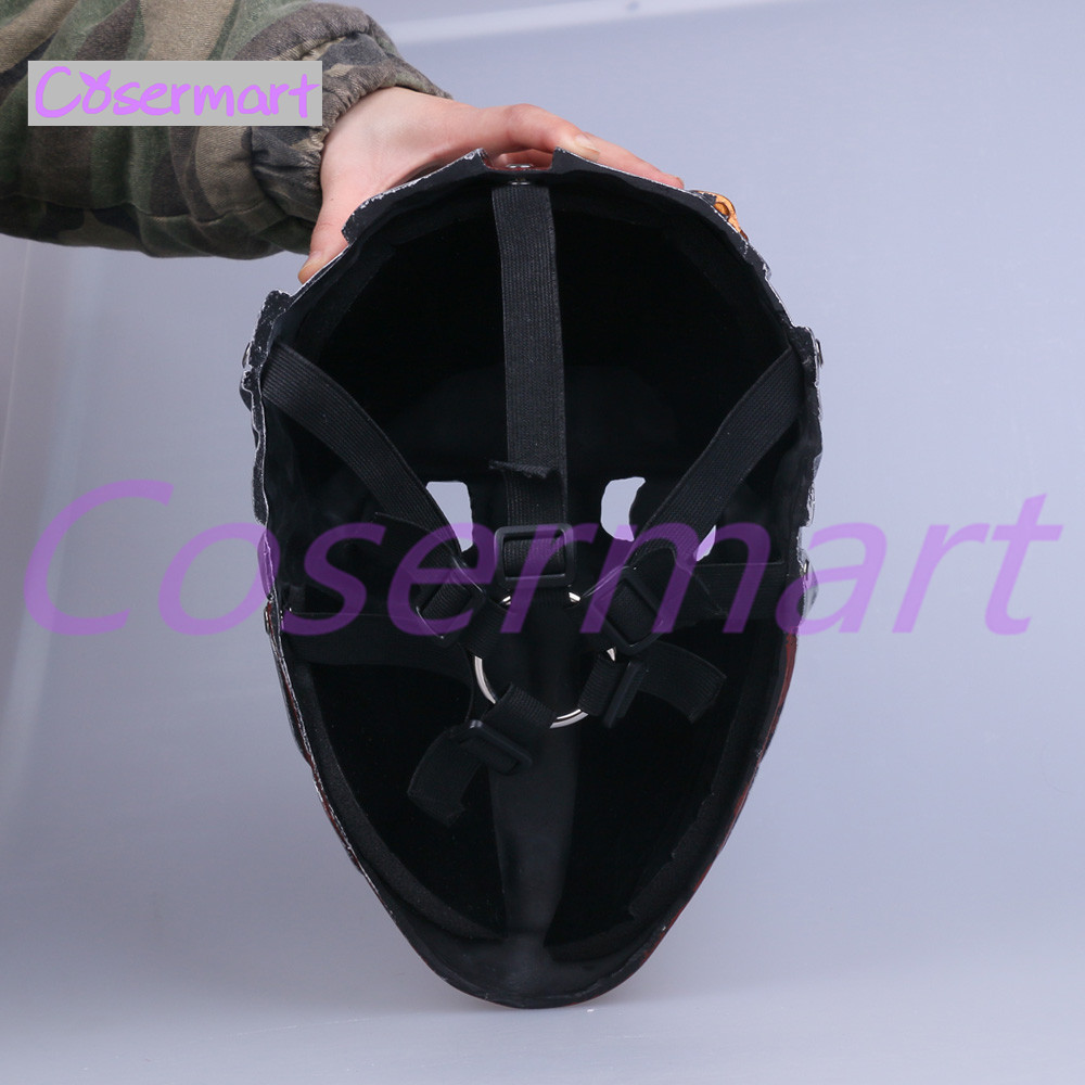 Cos Hot Game Dishonored Helmet Wearable Masks Cosplay Corvo Attano Mask Hard Resin Halloween Party (5)