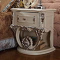 European White French Bedroom Bedside Bedside Cabinet Drawer Cabinet Furniture Garden Telephone Table Drawer Cabinet