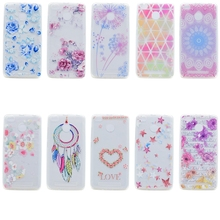 Xiaomi Redmi 4x Cartoon Datura Flower Case on for Fundas Soft Cover Xiomi 3s 3 Pro Phone Capa