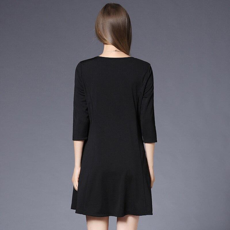 Ženska proljetna modna haljina D6977001 debela MM 7 minuta - Ženska odjeća - Foto 3