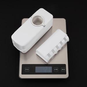 Image 5 - ชุดอุปกรณ์ห้องน้ำแปรงสีฟัน Automatic Toothpaste Dispenser ผู้ถือแปรงสีฟัน Wall Mount Rack ห้องน้ำชุดเครื่องมือ