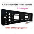 hot!! 420TVL Resolution Wireless Backup Car Licence Plate Frame Camera Support PAL video system
