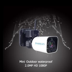 Image 2 - Inesun наружная WiFi камера безопасности PTZ IP HD 1080P 2MP поддержка двухстороннее аудио ночное видение Обнаружение движения Макс 128G SD карта