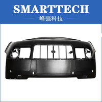 Precision injection moulded automotive plastic bumper manufacturing