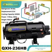 3250W Cooling capacity refrigeration compressor (R134a) installed in bottle cooler