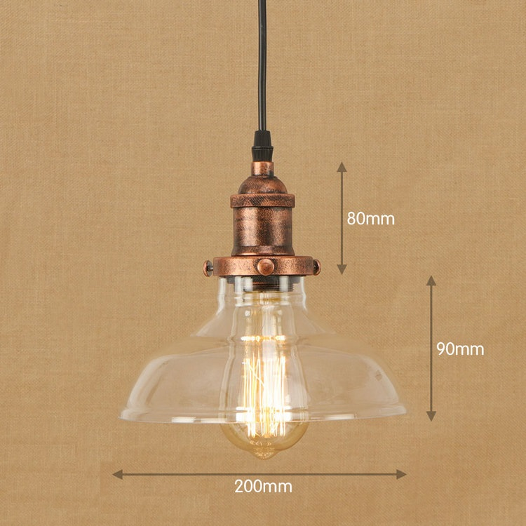 IWHD LED Hanging Lamp Loft Vintage Industrial Lighting Pendant Lights American Style Bedroom Kitchen Retro Light Fixtures iwhd american edison loft style antique pendant lamp industrial creative lid iron vintage hanging light fixtures home lighting