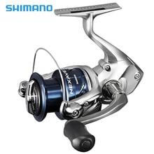 2018 Nuevo Shimano Nexave FE Spinning Reel 1000 2500HG C3000HG 4000HG 5.0: 1 / 5.8: 1 / 6.2: 1 Front Drag 4BB Carrete de pesca de carpa de agua salada