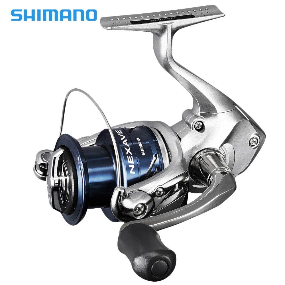 2018 Nuovo Shimano Nexave FE Bobina di Filatura 1000 2500HG C3000HG 4000HG 5.0: 1/5. 8:1/6.2: 1 Frizione Anteriore 4BB Acqua Salata Carp Fishing Reel