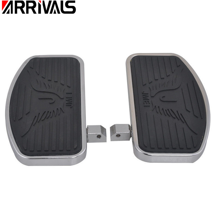 Motorcycle Rear Passenger Foot Pegs Floorboards Footboard For KAWASAKI Vulcan 800 900 400 VN800 VN900 VN400