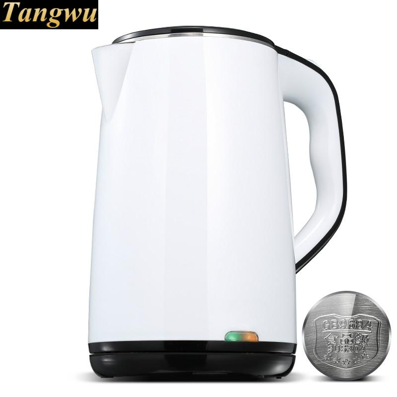 Electric kettle kettles home 304 stainless steel automatic power supply insulation electric kettle is used for automatic power failure and boiler stainless steel kettles