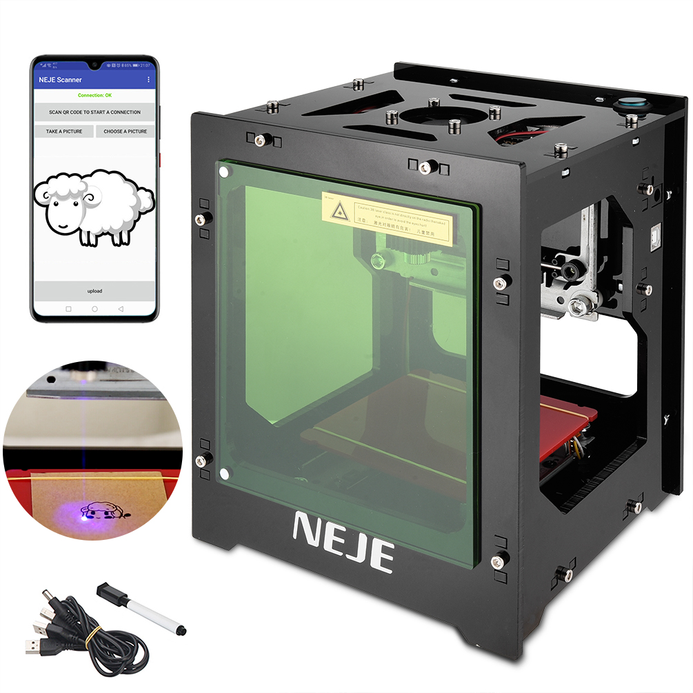NEJE 1000mW 3000mW Mini USB Laser Engraver DIY Desktop CNC Router Laser Engraving Machine Marking Machine