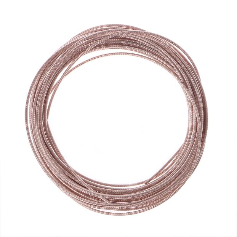 10 metros de cabo coaxial RG316 RF cabo 2.5mm 50 Ohm 30ft para cravar conector W315
