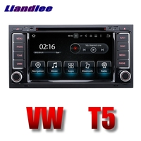 Liandlee Car Multimedia Player NAVI For Volkswagen VW Touareg T5 Transporter Car Touch Screen Radio DVD Stereo GPS Navigation