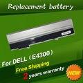 Jigu 11.1 v bateria do portátil para dell latitude e4300 e4310 fm332 0fx8x 312-0822 312-0823 312-9955 451-10636 451-10638 451-11459