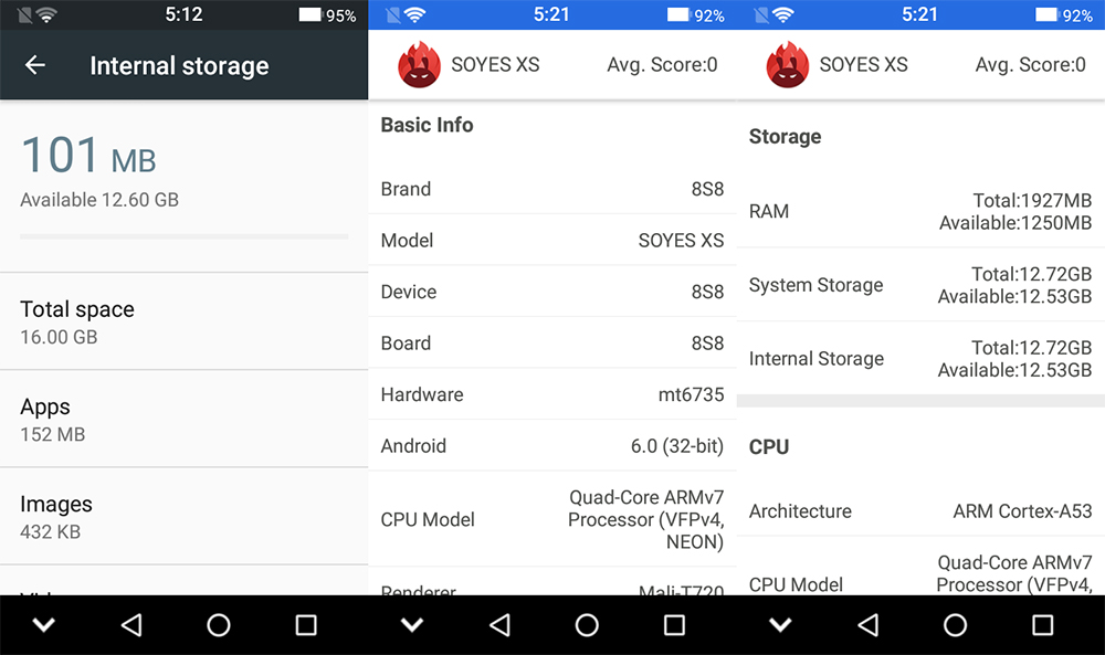 RAM mini 4G play 19