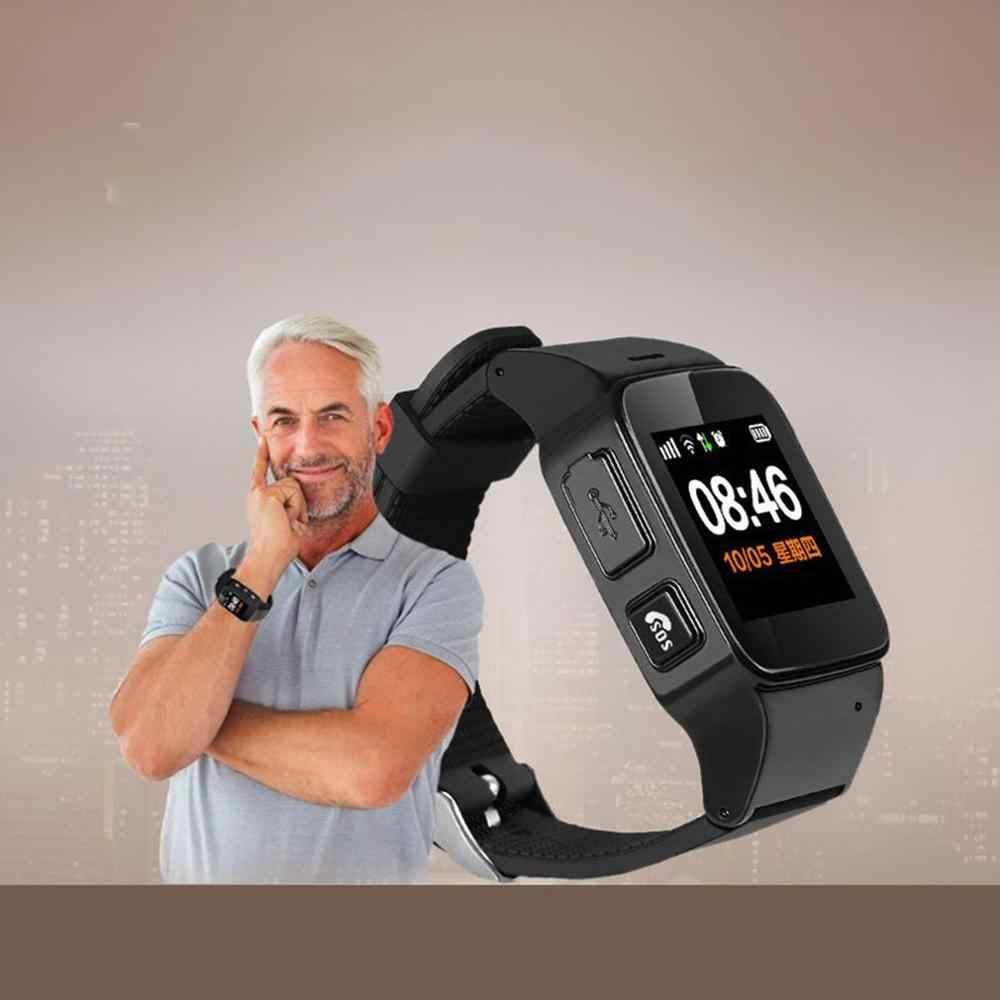 D99+ 1.22 Inch Screen Smart Watch Elderly Children Smart Watch Phone SOS Anti-lost GPS Wifi Tracking Smartwatch