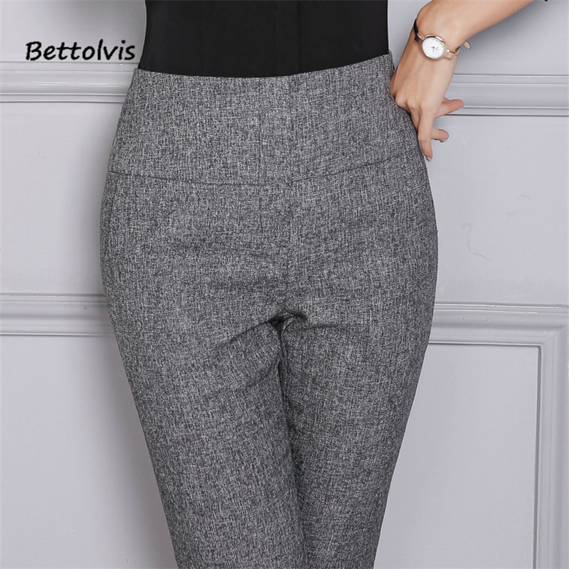 Popular Details About Women Formal OL Harem Pants Pencil Casual Slim Fit Baggy