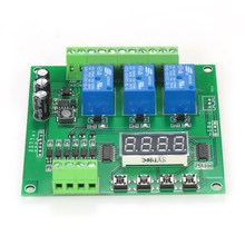 Programmable 3-Channel LED Relay Module DC/AC7V~36V Motor Driver Controller for Arduino Raspberry Pi(China)
