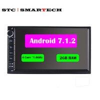 2Din 2G RAM Android 7 1 1 Universal Autoradio Car MultiMedia Car Headunit Stereo Radio Audio